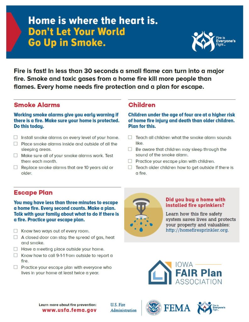Click on this image to download a PDF for a fire escape plan.